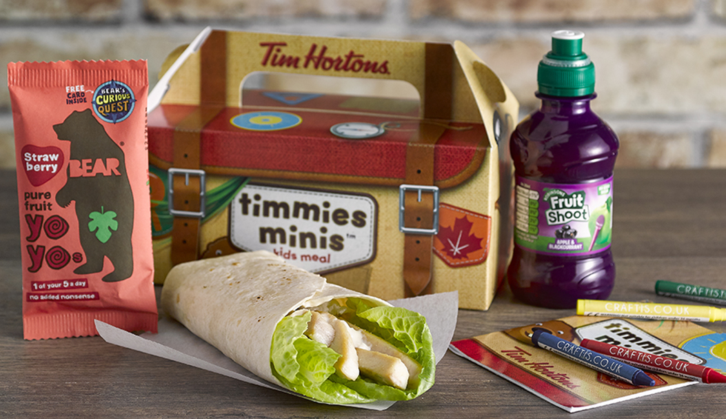 Timmies Minis Competition - Win a Years Supply of Fruit Shoot!
