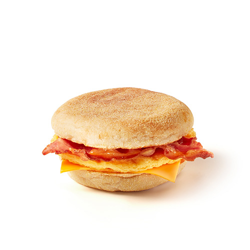 Double Bacon with Egg & Cheese Muffin