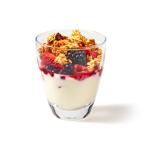 Mixed berry Granola Pot