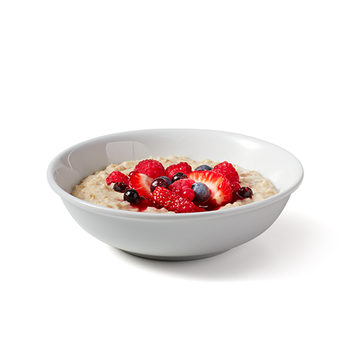 Porridge with Mixed Berries