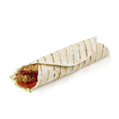 Crispy Mexican Chicken Wrap