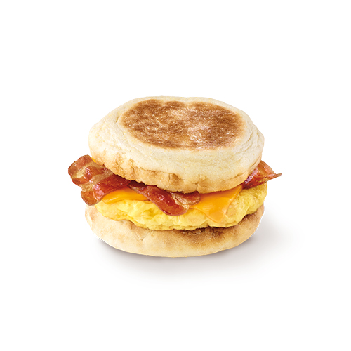 Bacon with Egg & Cheese Muffin