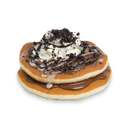 Chocolate Hazelnut & Oreo® Pancakes