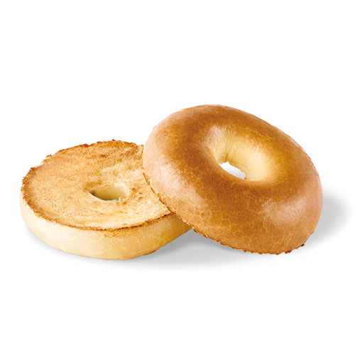 Plain Bagel with butter
