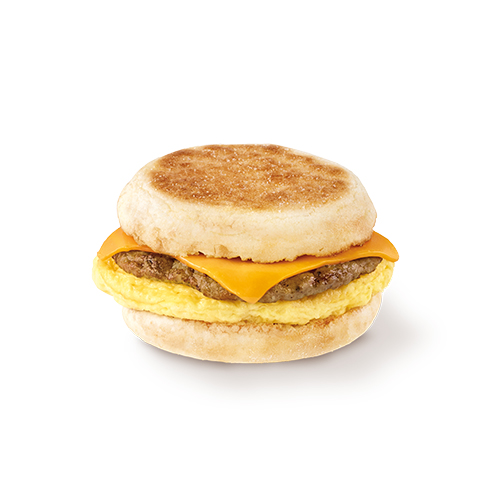 Sausage with Egg & Cheese Muffin